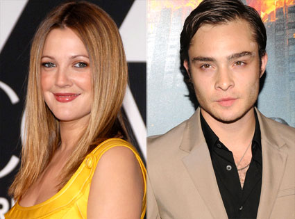 Drew Barrymore and Ed Westwick