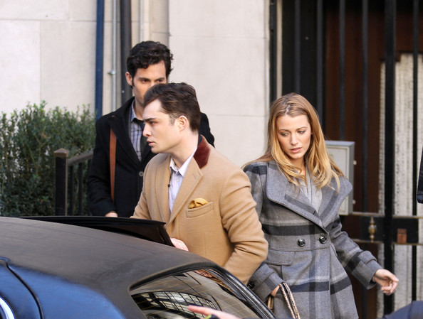 Blake Lively and Ed Westwick