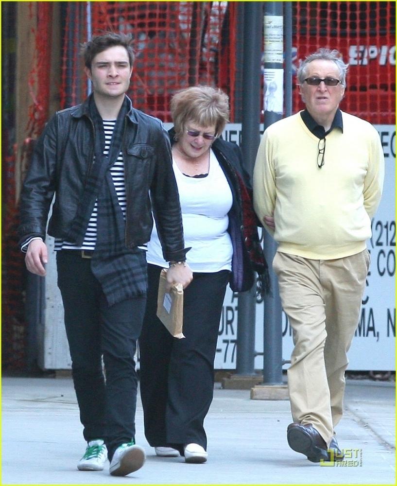 Ed Westwick family