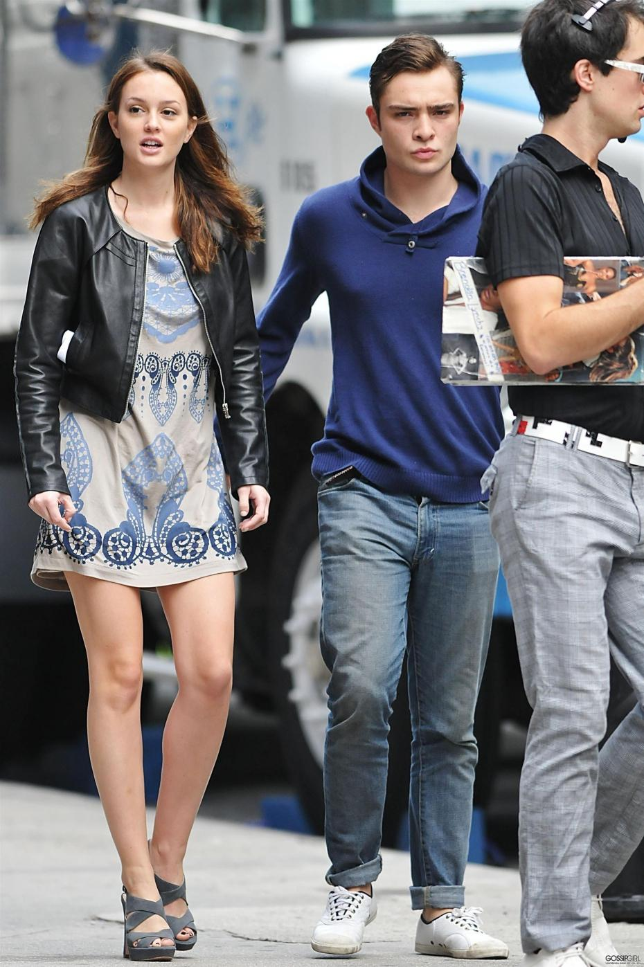 are ed westwick and leighton meester dating 2013